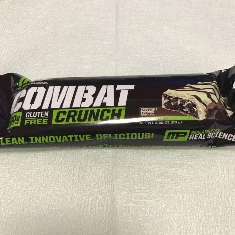マッスルファームのコンバットクランチ チョコレートココナッツ味