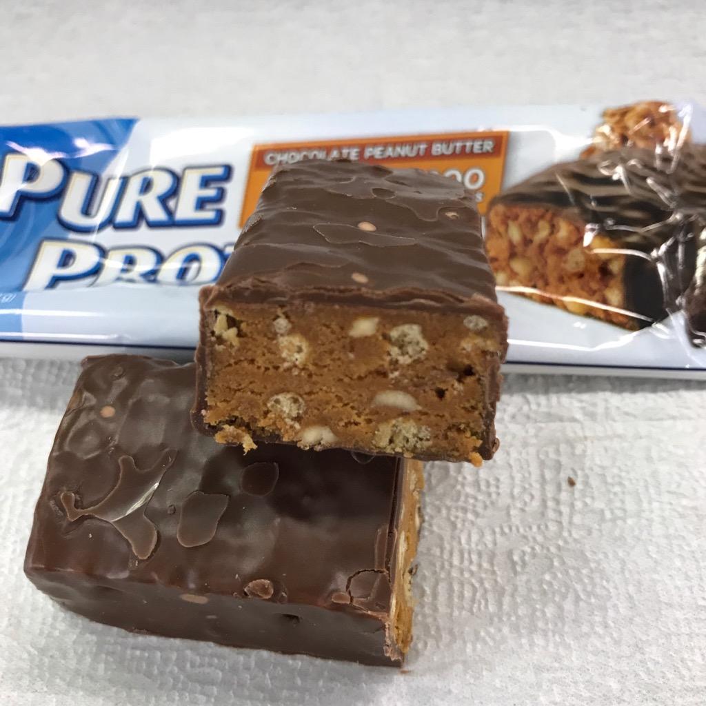 ピュアプロテインのピュアプロテインバー チョコレートピーナッツバター味
