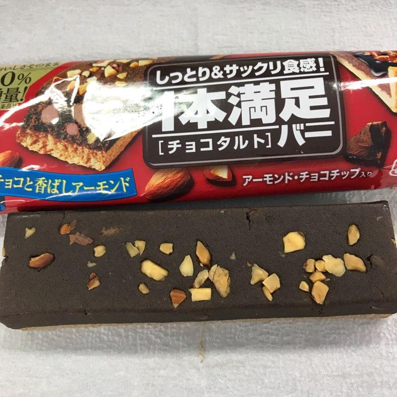 アサヒグループ食品の1本満足バーのチョコタルト