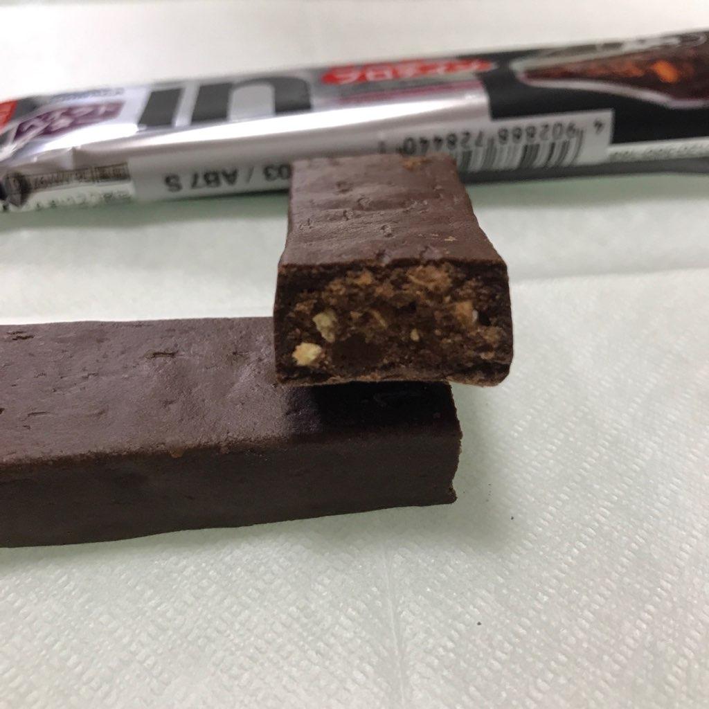 森永製菓のinバープロテイン グラノーラ味