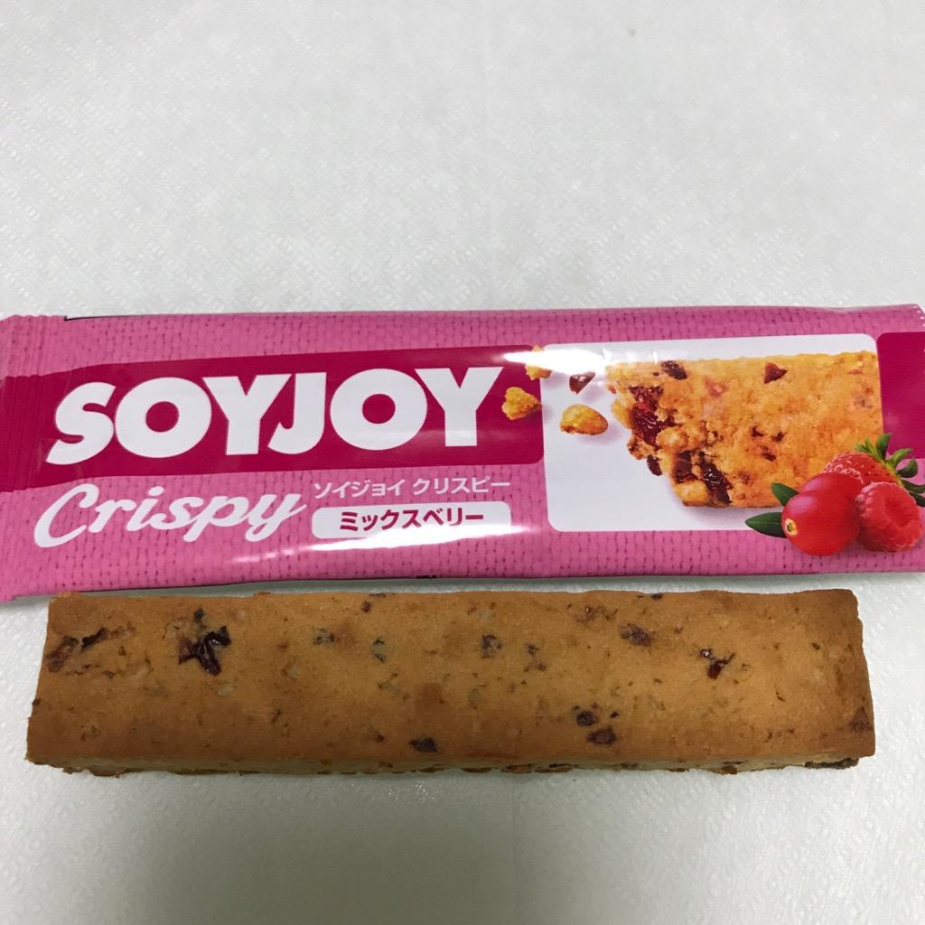 大塚製薬のソイジョイクリスピー ミックスベリー味