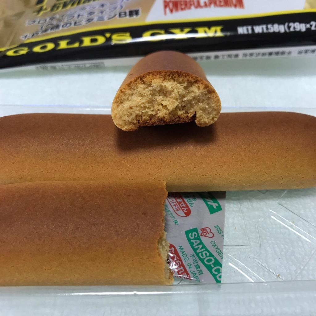 ゴールドジムのプロテインクッキーバー