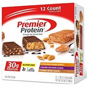 プレミアムプロテインのピーナッツバタークランチ味