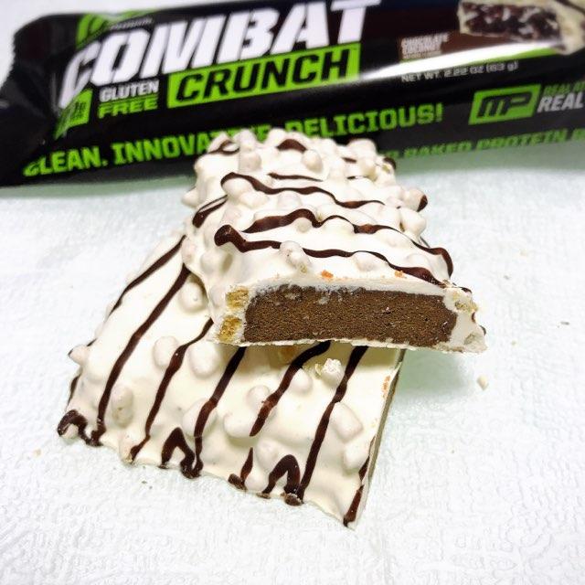 マッスルファームのコンバットクランチのチョコレートココナッツ
