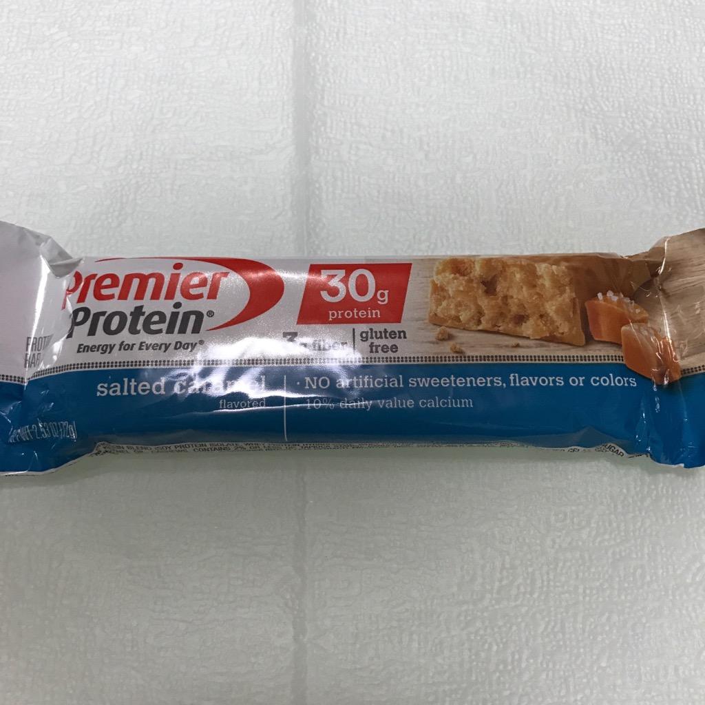 プレミアプロテインの塩キャラメル