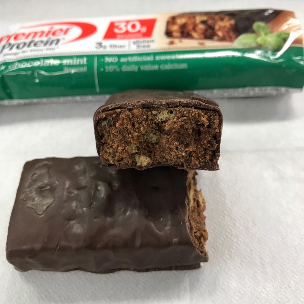 プレミアムプロテインのダークチョコミント味