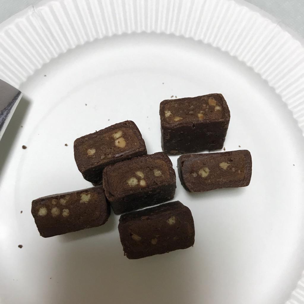 森永製菓のinバープロテインミニのベイクドチョコ