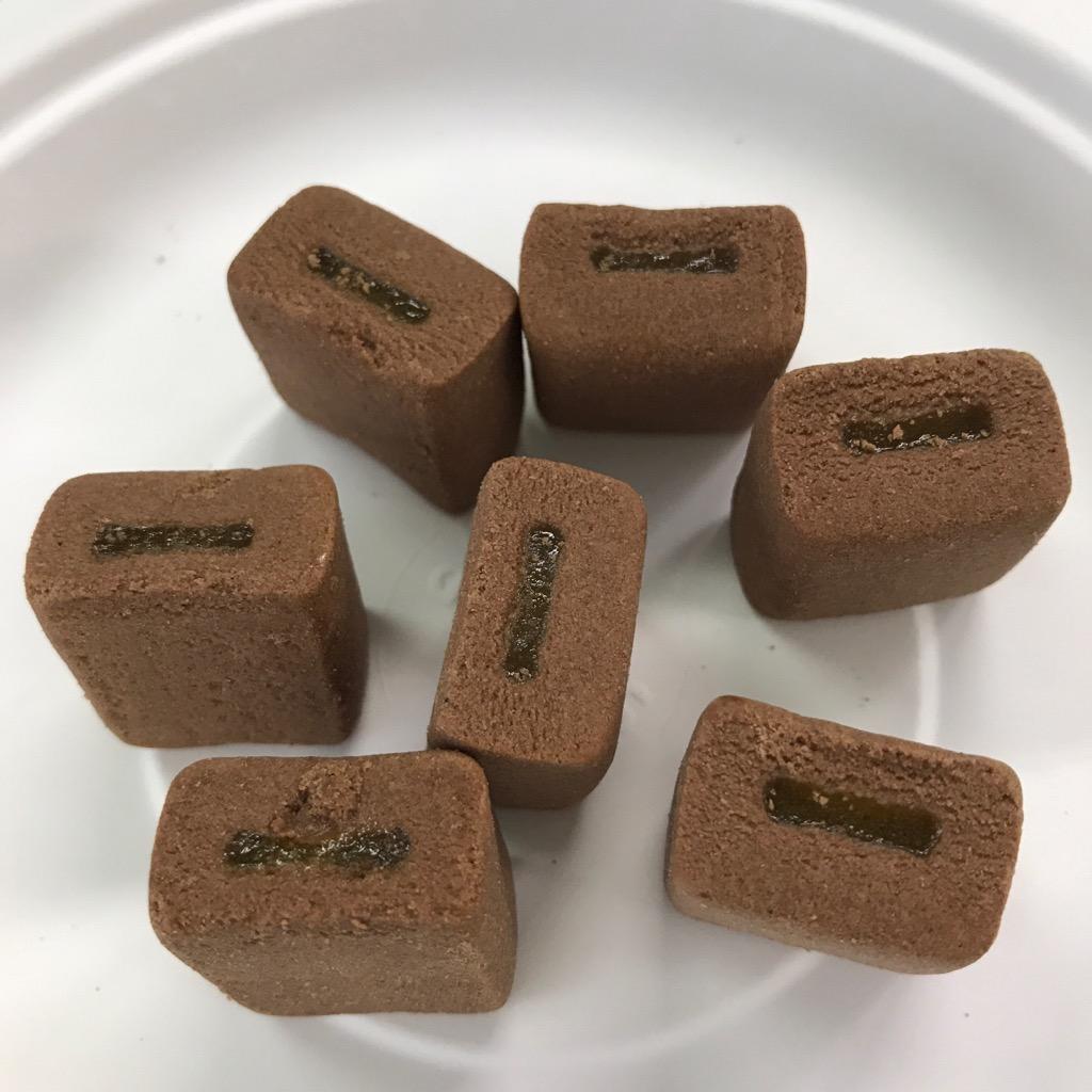 森永製菓のinバープロテインミニのココアブラウニー