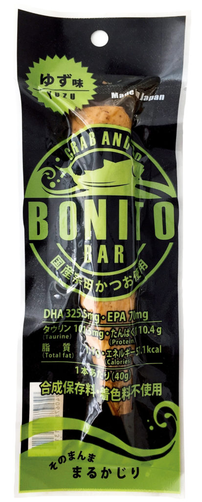 土佐食株式会社のボニートバー(BONITO BAR)のゆず味