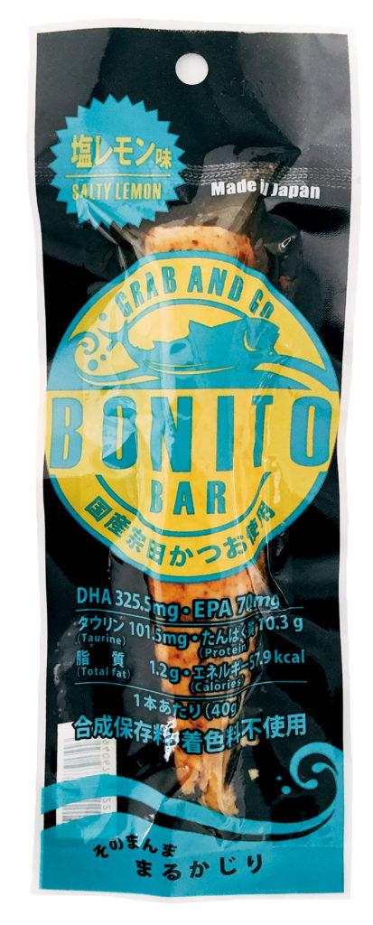 土佐食株式会社のボニートバー(BONITO BAR)の塩レモン味