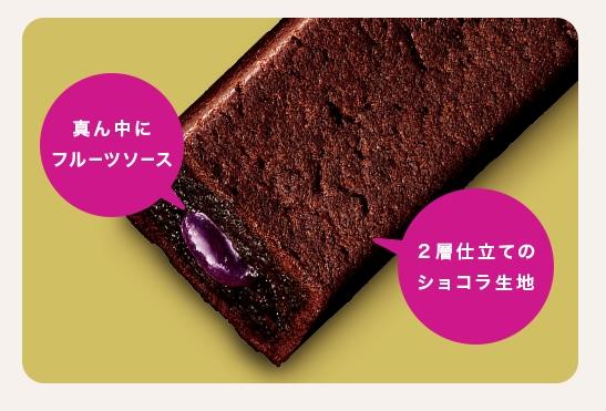 アサヒグループ食品の1本満足バーのヘルシー焼ショコラシリーズ