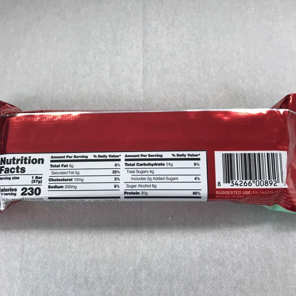 BSNシンサ6のプロテインクリスプのミントミントチョコレートチョコレートチップ