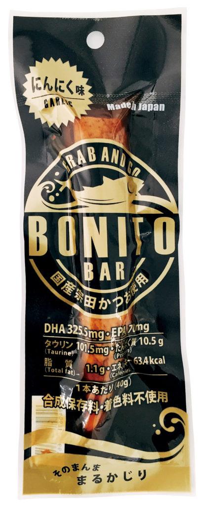 土佐食株式会社のボニートバー(BONITO BAR)のにんにく味