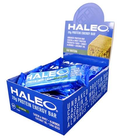 ハレオ(HALEO)のプロテインバー『ハレオバー』の宇治抹茶