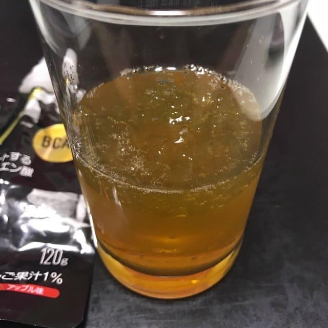 マツキヨラボ(matsukiyoLAB)のアミノ3200ゼリーのアップル味