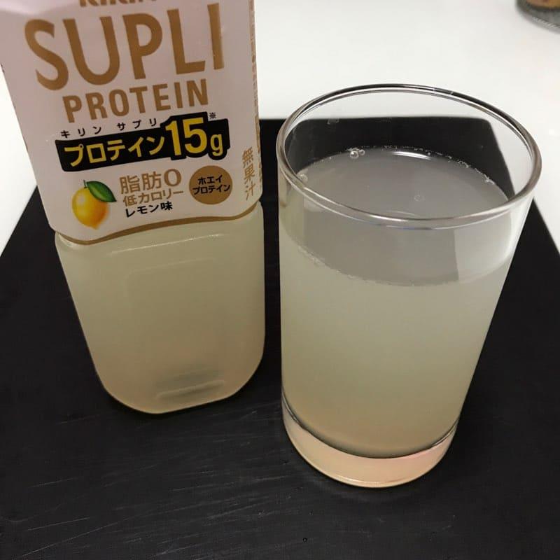 キリンビバレッジ×ローソンのキリンサプリプロテインのレモン味