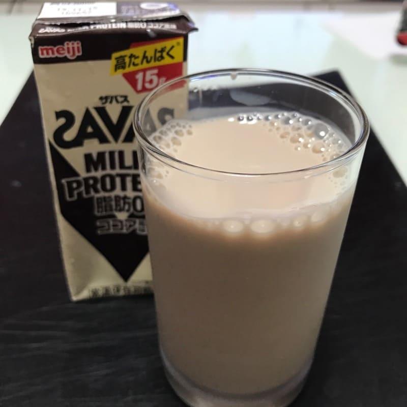 ザバス(SAVAS)のミルクプロテイン(200ml)のココア風味