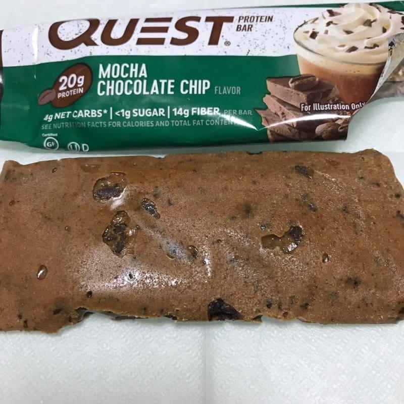 クエストのプロテインバー『クエストバー』のモカチョコレートチップ