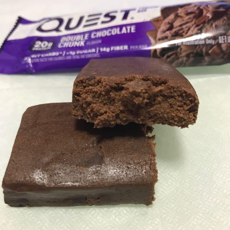 クエストのプロテインバー『クエストバー』のダブルチョコレートチャンク