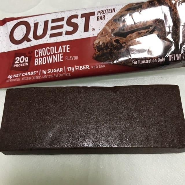 クエストのプロテインバー『クエストバー』のチョコレートブラウニー