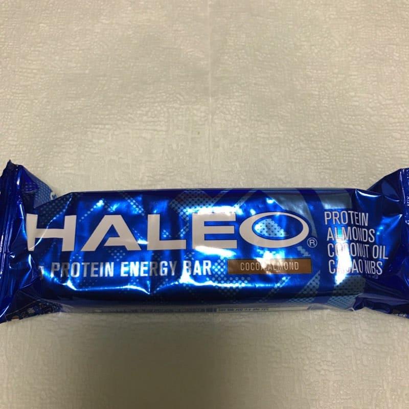 ハレオ(HALEO)のプロテインバー『ハレオバー』のココアアーモンド